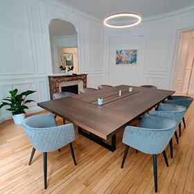 Salle de réunion du cabinet Billand & Messié à Paris